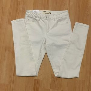 Garage High Waisted Jeans in White